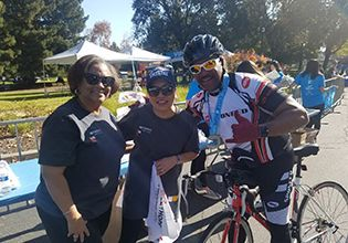 Picture of Team Member volunteers at the Habitat for Humanity East Bay/Silicon Valley Cycle of Hope